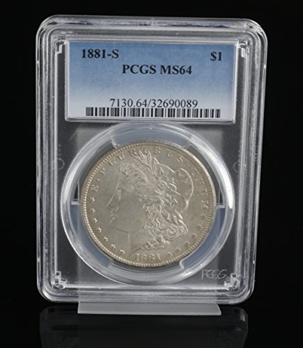 1881 S Morgan Dollar $1 MS-64 PCGS