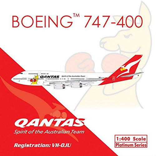 (Qantas B747-400 VH-OJU