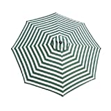 9ft Patio Market Umbrella Replacement Canopy Multi Color