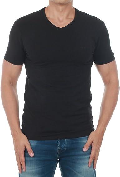 Camiseta Guess Hombre Negro M73I55J1300-A996: Amazon.es: Ropa ...