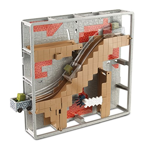 Hot Wheels Minecraft Track Blocks Abandoned Mineshaft Play Set