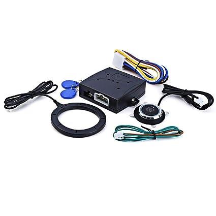 Amazon com: Godyluck Universal Design 12V Car Engine Press Start