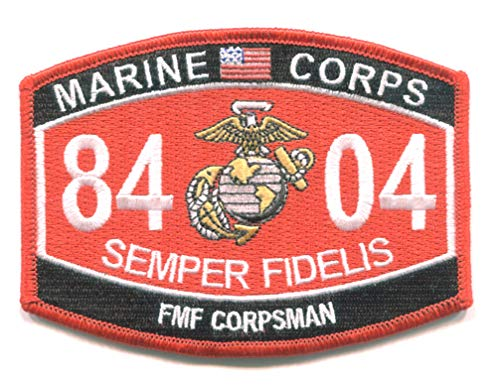(Fleet Marine Force Corpsman 8404 MOS)