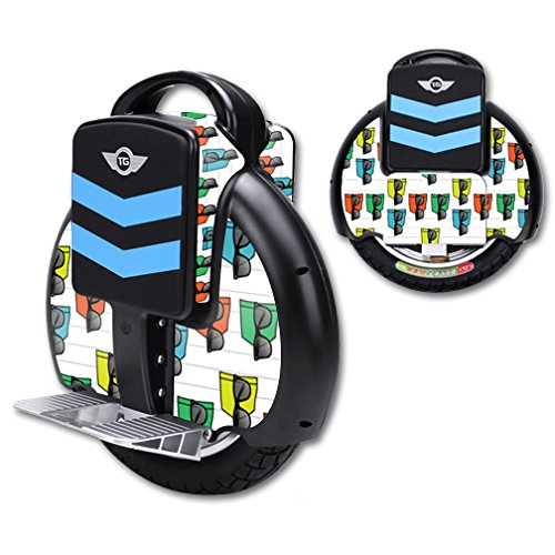 MightySkins Protective Vinyl Skin Decal for TG-F3 Self Balancing one wheel electric unicycle scooter wrap cover sticker - Cover Wayfarer