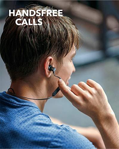 Anker Soundbuds Slim Bluetooth Kopfh/örer IPX7 Wasserschutzklasse Bluetooth 5.0 und Erstklassiger Sound Upgraded Kabellose In-Ear Kopfh/örer mit 10 Stunden Akkulaufzeit