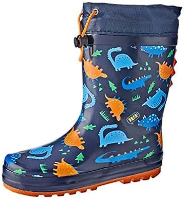 Clarks Boys Puddles B Shoes, Blue, 2.5 AU