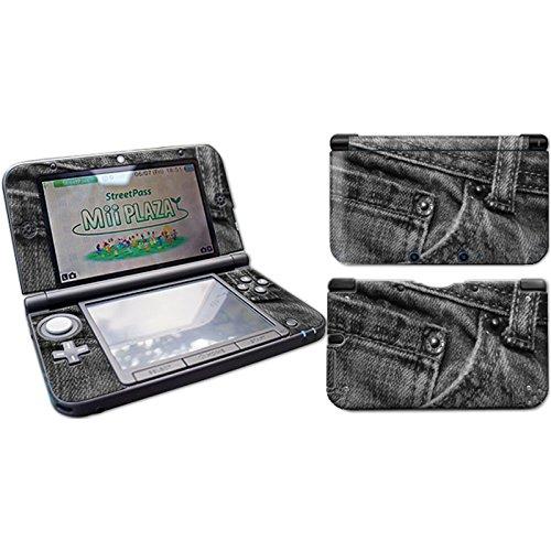 Skins4u – Adhesivo y película protectora para Nintendo 3DS XL, Blood Crime White