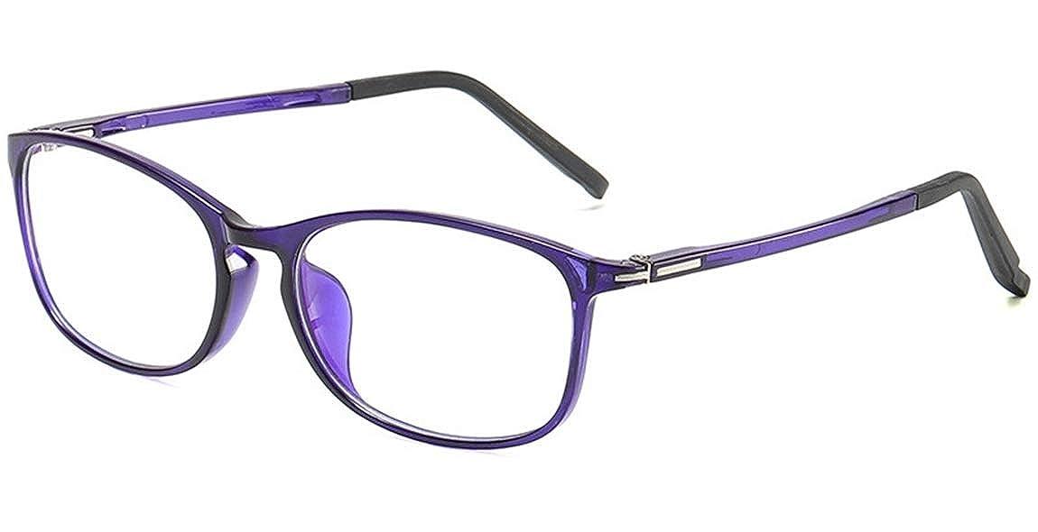 JIUPO Gafas con Filtro Anti Luz Azul Lente Claro Gafas de Lectura Nerd Decoraci/ón Para Mujer y Hombre PG32