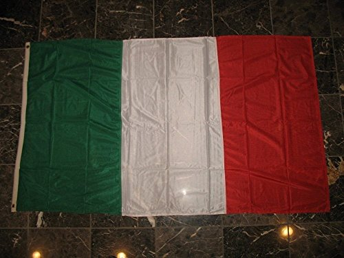 3X5 Embroidered Sewn Italy Italian Tricolor Nylon Flag 3'X5' Banner by Decorative Flag