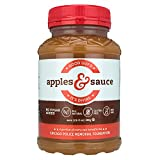 Good Guy's Apples & Sauce by Mullen Foods | Chicago's Finest All-Natural No Sugar Added Applesauce Recipe, Non-GMO, Gluten-Free, Thick and Chunky, 24 oz Jars (Pack of 3)