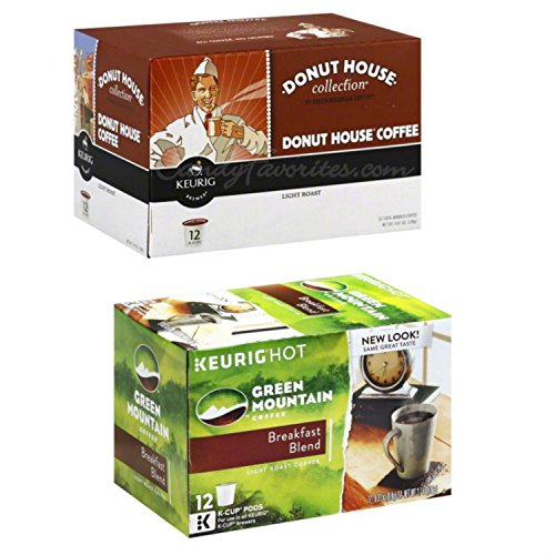 deluxe-donut-house-k-cup-bundle-featuring-a-box-each-of-k-cup-pods-from-donut-house-and-green-mounta