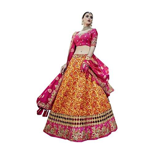 lehenga ETHNIC da dupatta indossare emproum anarkali EMPORIUM donne indiana per sposa nozze Ethnic tradizionale choli di 2741 seta kameez personalizzato misurare etnica abito salwar la festa 6p6qrw