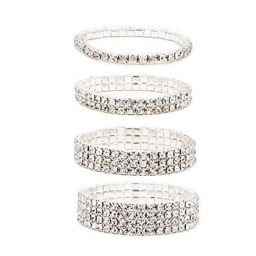 Zealmer Crystal Bracelet Synthetic Diamond