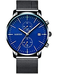 KASHIDUN.Men's Watches Large Face Military WristWatch...