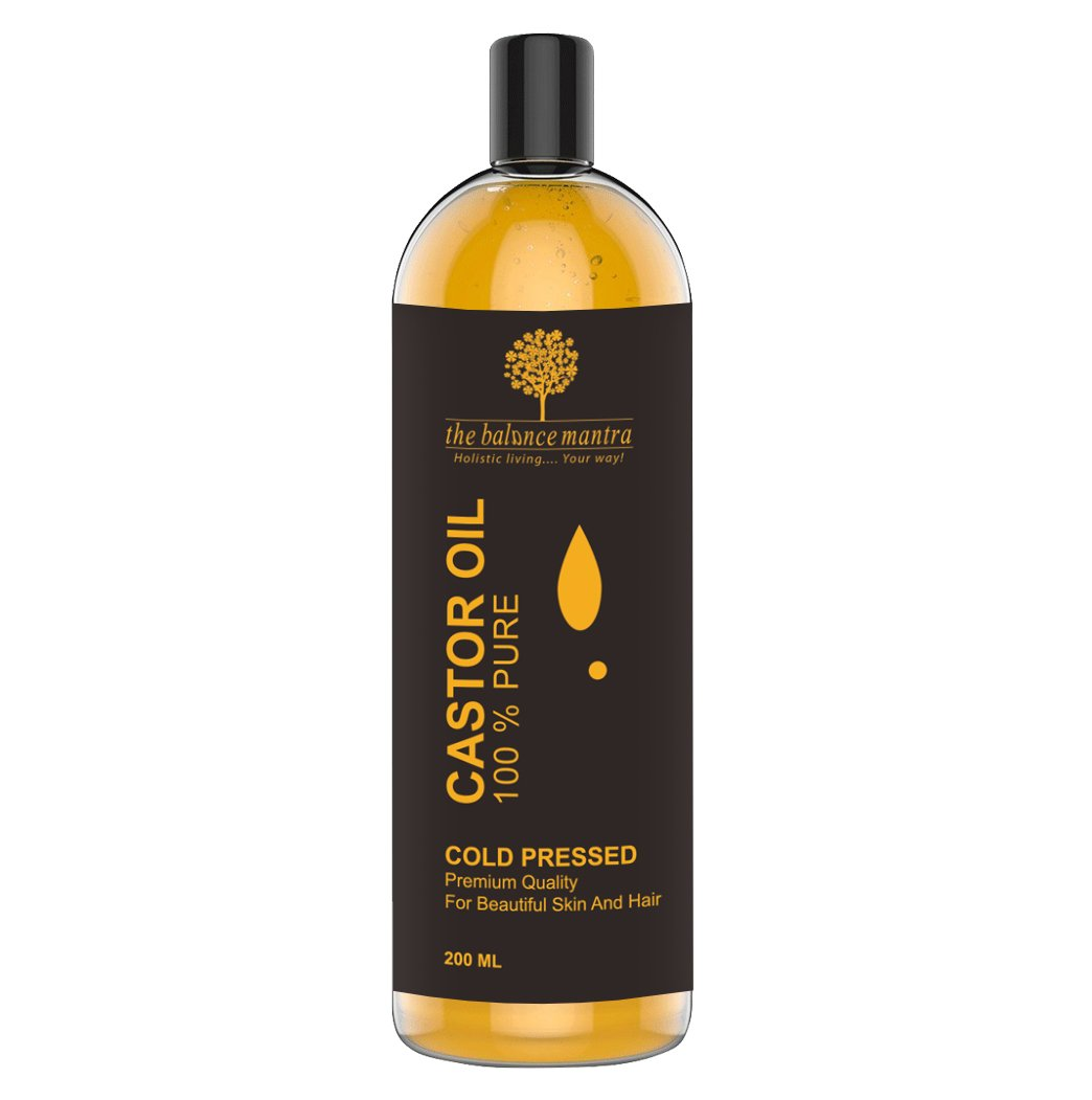 The Balance Mantra Cold Pressed Castor Oil For Hair Growth, 200ml