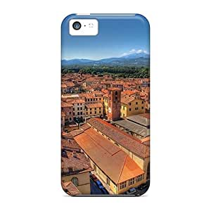 Fashion Protective Superb Roofs In An Italian City Case Cover For iPhone 6 4.7