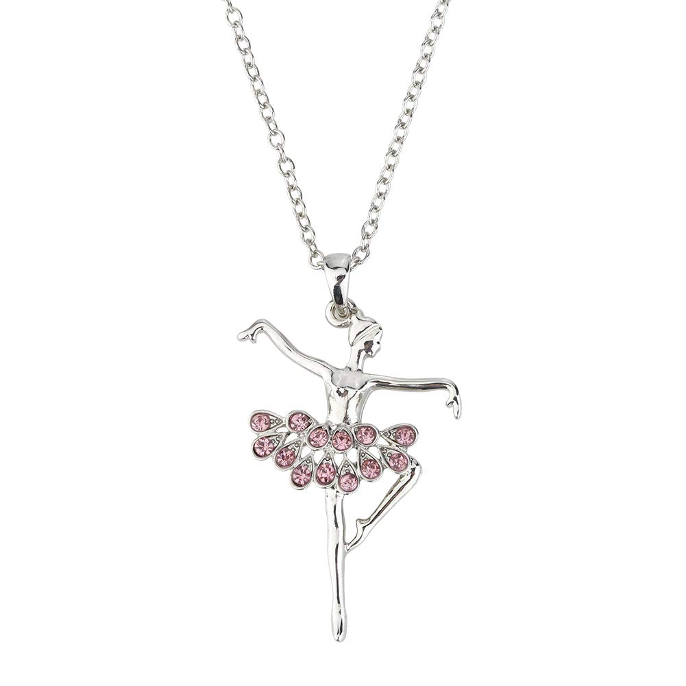 Round Rich Music Jewelry Box and Ballerina Dance Necklaces with Melody is Swan Lake Pink by Round Rich (Image #3)
