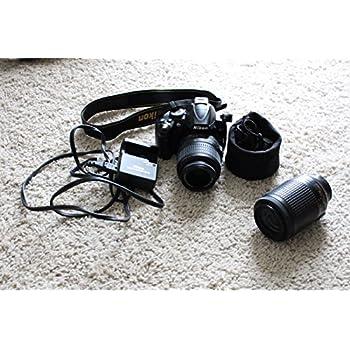 Amazon.com: Nikon D3000 10 MP Digital SLR Cámara con 18 – 55 ...