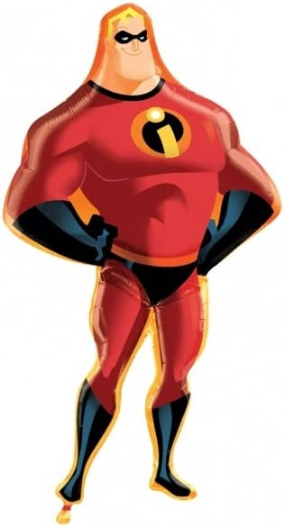 Toyland 41 Mr Incredible Shaped Foil Balloon The Incredibles