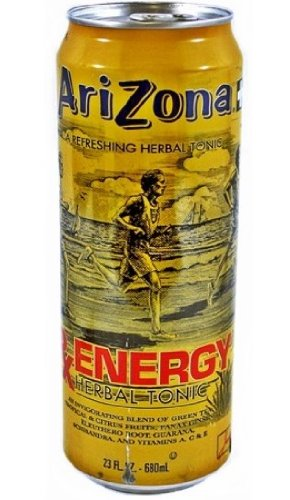 Arizona Tea RX Energy Herbal Tonic, 23 Ounce Cans (Pack of 24) Herbal Tonic