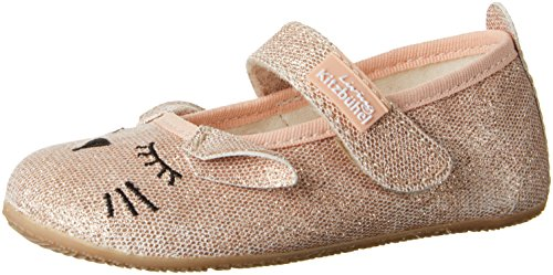 112 Gris Imperial Kitzbühel Katze Living Blanc Fille Chaussons Ballerina qB7WZx84w