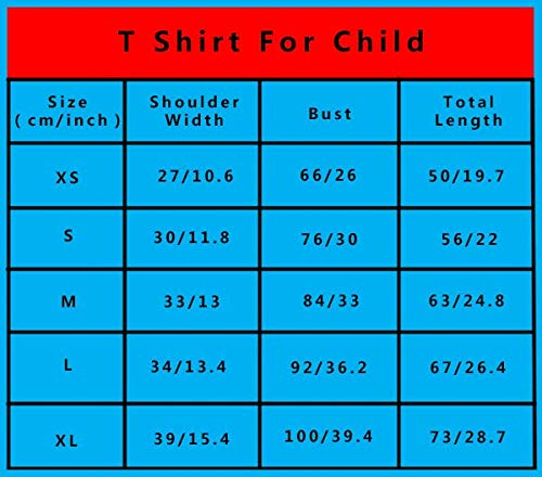 GIGIBO Unspeakable Image Youth Kids Cotton T-Shirts Fashion Graphic Print Tee