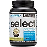 PEScience Select Protein Premium Whey and Casein Blend Cupcake, Frosted Chocolate, 1.99 Pounds