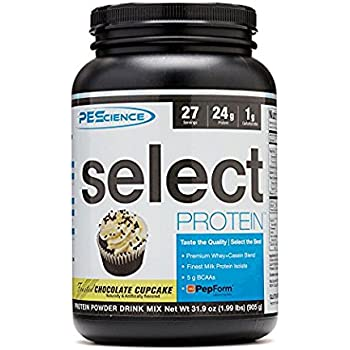 PEScience - Select Protein - Whey & Casein Protein Powder Supplement Blend - 27 Servings (Frosted Chocolate Cupcake)