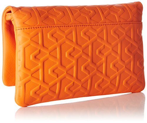Bree BREELimoges 3, Black Signature, Clutch S16 - Imbracatura Donna Arancione (Orange (Flame 125))