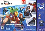 Disney Infinity Marvel Super Heroes 2.0 XBox 360 with *Captain America & Venom Figure* Starter Pack