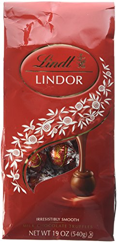 Lindor Milk Chocolate Truffles Kosher, 19 Ounce