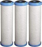 "Pentek EPM-10 Carbon Block Filter Cartridge, 9-3/4"" x 2-7/8"", 10 Microns"