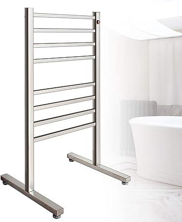 SQL Toallero con calefacción, radiador, calefacción Central, Calentador de Escalera, Acero Inoxidable, 965 × 500 × 470 mm: Amazon.es: Hogar