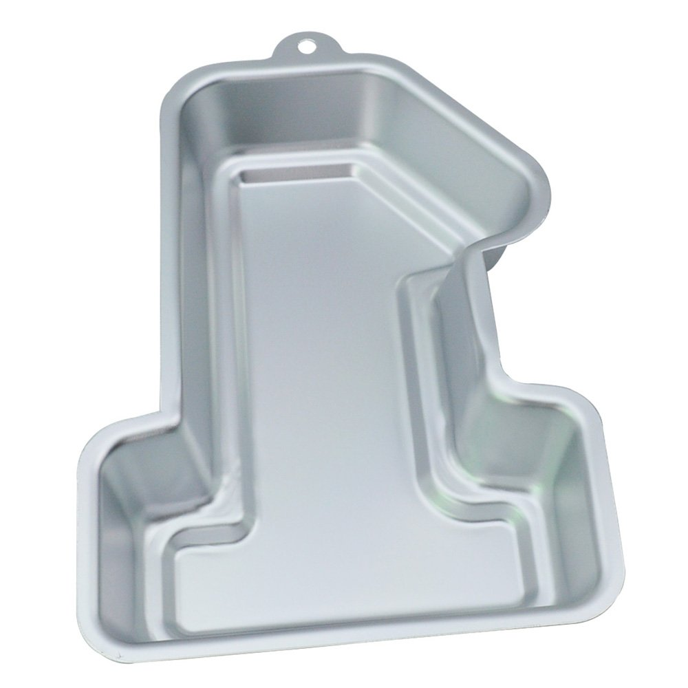 WOBATOY 11-inch Number 1 One Cake Pan