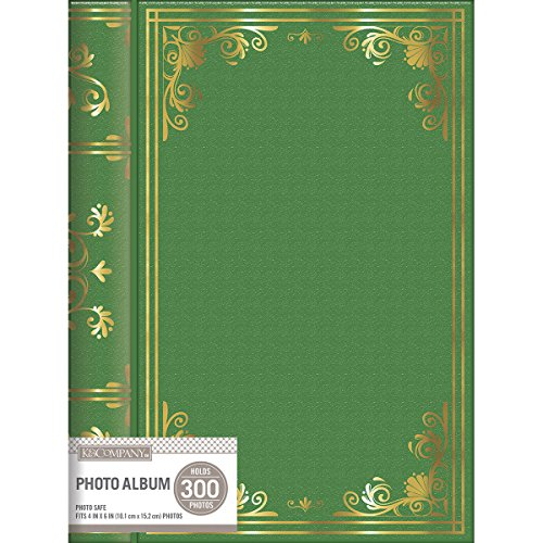 Library Album (K&Co Photo Album Memo Spiral Library 3 UP Green)