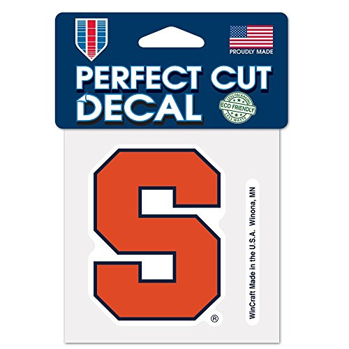 (WinCraft NCAA Syracuse University Perfect Cut Color Decal, 4