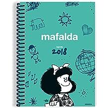 Mafalda 2018 Agenda anillada - Verde (Spanish Edition)