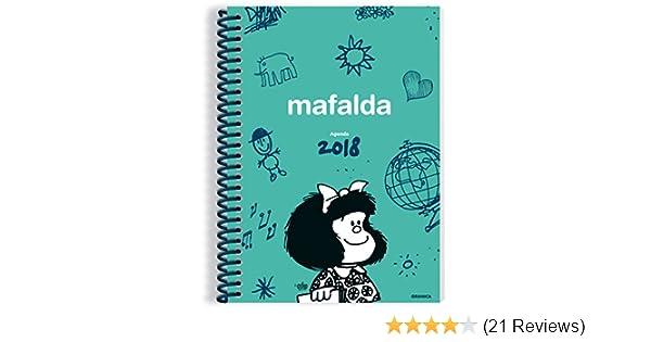 Mafalda 2018 Agenda anillada - Verde (Spanish Edition ...