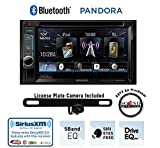 "Kenwood DDX372BT 6.2"" DVD Receiver with Built in Bluetooth, License Plate Rear Backup Camera and a FREE SOTS Air Freshener"