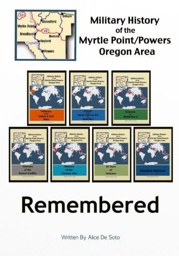 Download Remembered: Military History of the Myrtle Point~Powers Area (A Military History of the Myrtle Point/Powers Oregon Area) (Volume 8) ebook