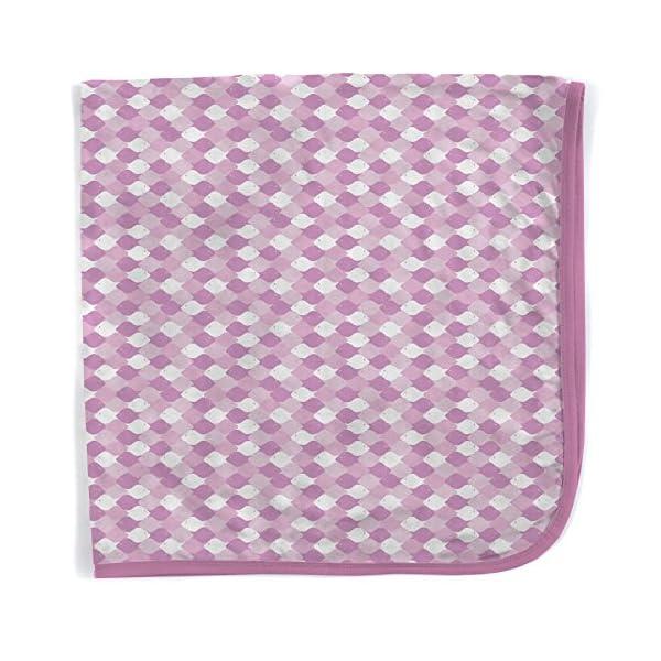 Magnetic Me Pink Mod Fish Modal Swaddle Blanket