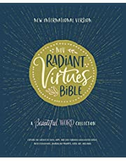 NIV, Radiant Virtues Bible: A Beautiful Word Collection, Hardcover, Red Letter, Comfort Print: Explore the virtues of faith, hope, and love