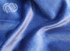 Etapa terciopelo B1de calidad, Azul, 3m x 5m