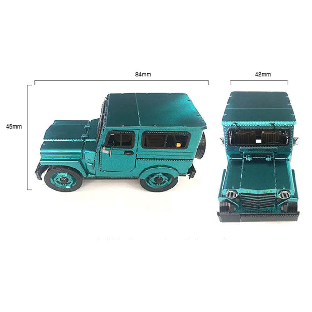 3D Inno Metal Model Sibal Taxi MetalBrick