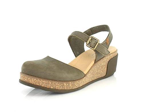 cdc1cceea1 El Naturalista N5001 Pleasant/Leaves, Sandalias con Correa de Tobillo para  Mujer: Amazon.es: Zapatos y complementos