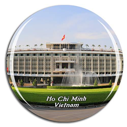 Weekino Vietnam Reunification Palace Ho Chi Minh Fridge Magnet 3D Crystal Glass Tourist City Travel Souvenir Collection Gift Strong Refrigerator Sticker