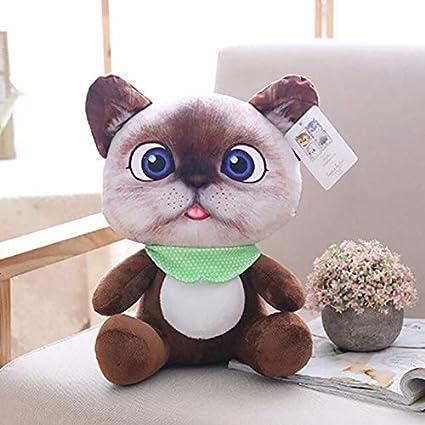 Gato Animales de Peluche Tamaño pequeño Muñeca de pie ...