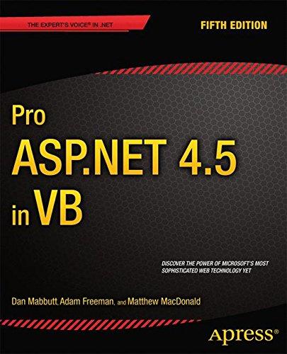 Pro ASP.NET 4.5 in VB by Apress