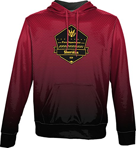 Price comparison product image ProSphere Boys' Cane Creek Volunteer Fire Department Zoom Pullover Hoodie