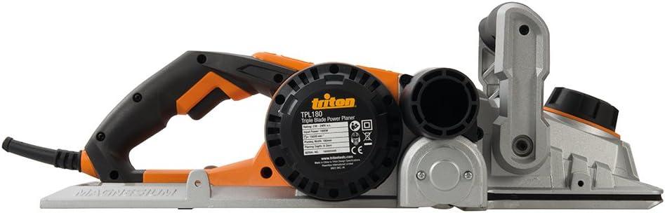 tama/ño: 180mm Triton TPL180 Cepilladora